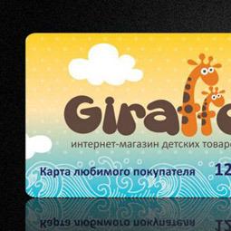 Дизайн карты для интернет-магазина Giraffo